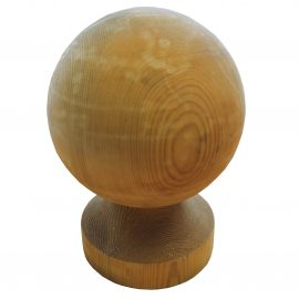 gate post finial ball