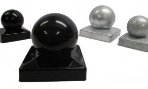 Metal Ball Finials for Fence Posts