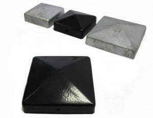 metal post caps